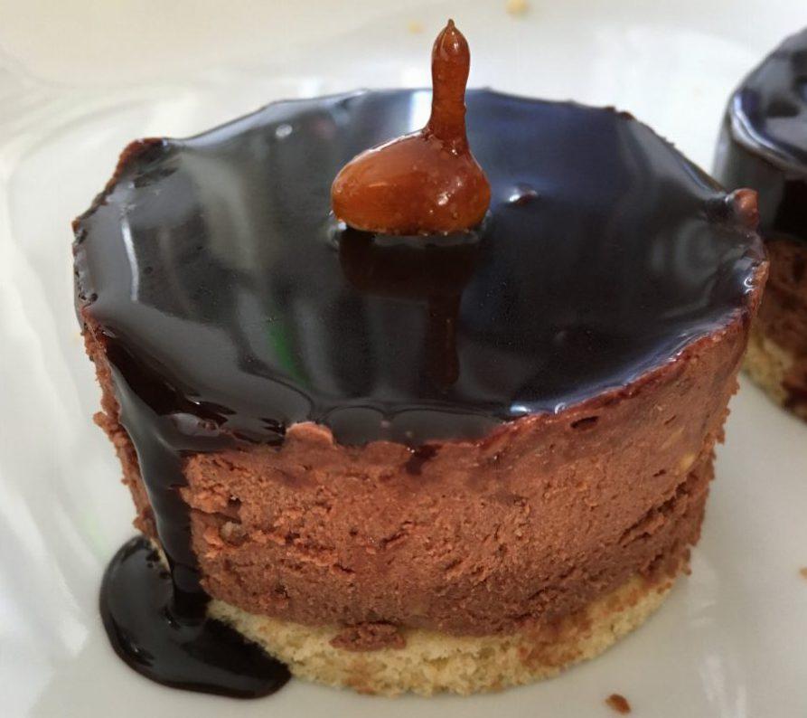Karamell Schoko Erdnuss Dessert (2)