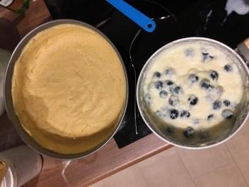 Baiser Heidelbeer Pudding Kuchen7