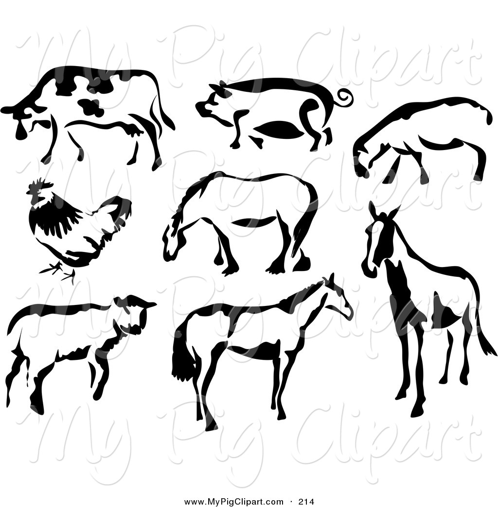 Royalty Free Lamb Stock Pig Designs