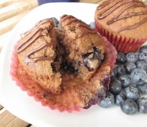 Chocolate Blueberry Muffins