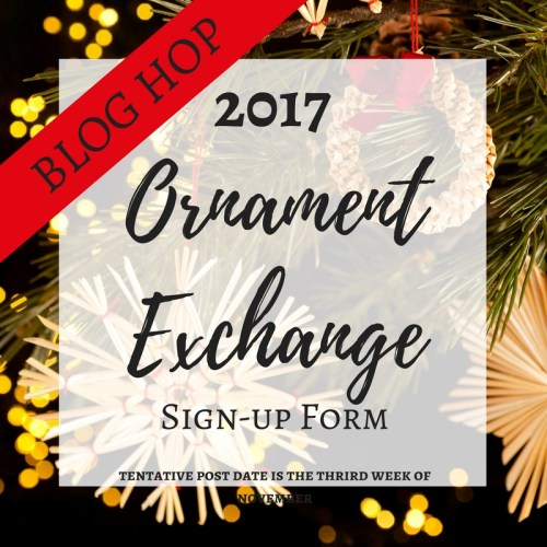 2017 Ornament Exchange Sign Ups