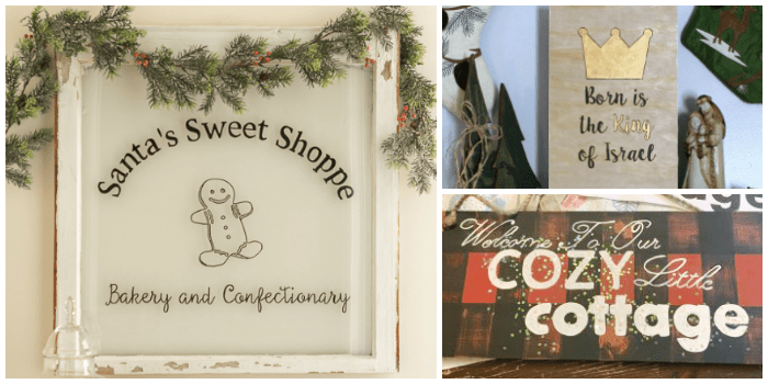 Best DIY Holiday Ideas Signs 2