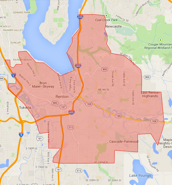 Map Seattle Zip Code
