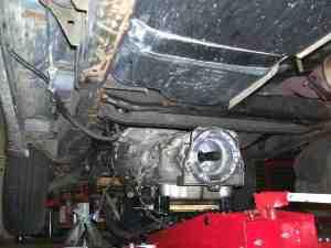 4L60E Removal