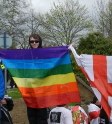 UK: From red and white to rainbow colours