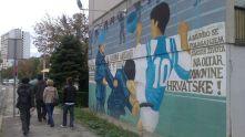 Croatia: Dinamo mural