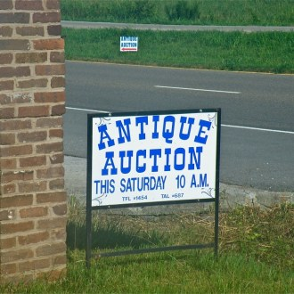 Auctions & Tablescapes