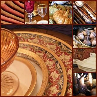 Autumn Tablescape Inspiration Board