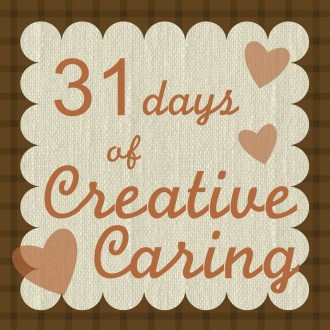 PUBLIC TRAGEDY: Day 25 of 31 Days of Creative Caring