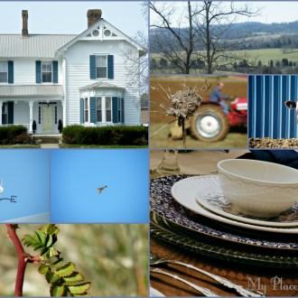 Spring Farmhouse Table