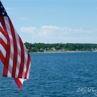 Mackinac Island Fourth of July Notecards
