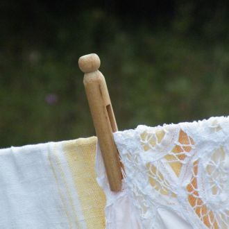 DRYING: How to Care for Vintage Linens & Lace