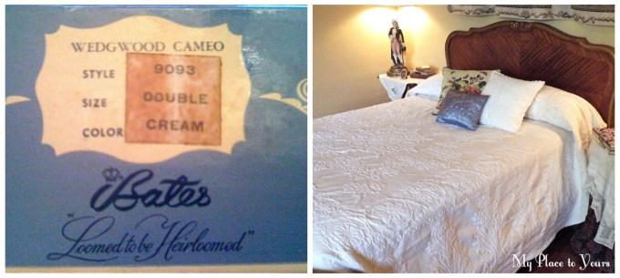 Bates bedspread
