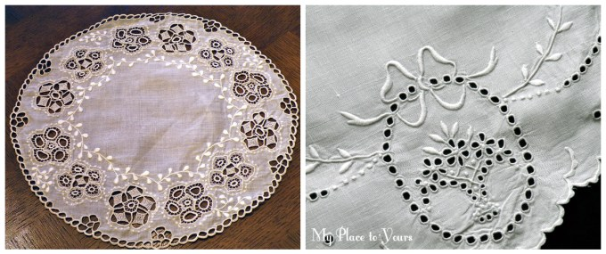 English whitework linens