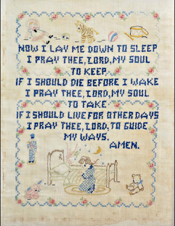 Nursery prayer