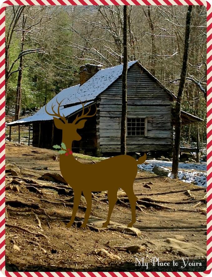 Mountain Cabin Christmas 1