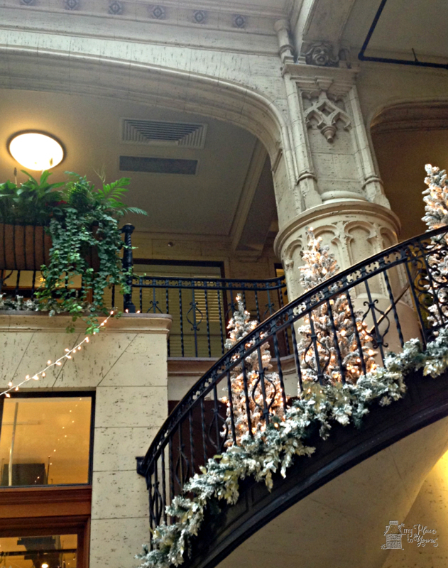 Gingerbread Houses at the Historic Grove Arcade – Asheville, NC
