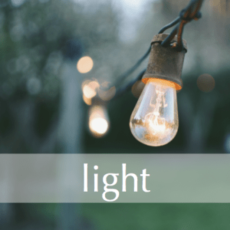 LIGHT:  Free Write Day 22