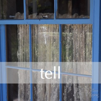 TELL:  Free Write Day 2