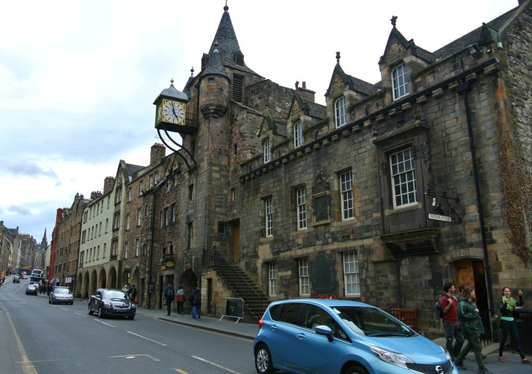 The Old Tolbooth on Edinburgh's Royal Mile.