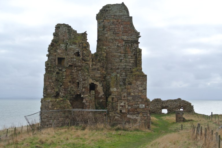 Newark Castle on the Firth of Forth.
