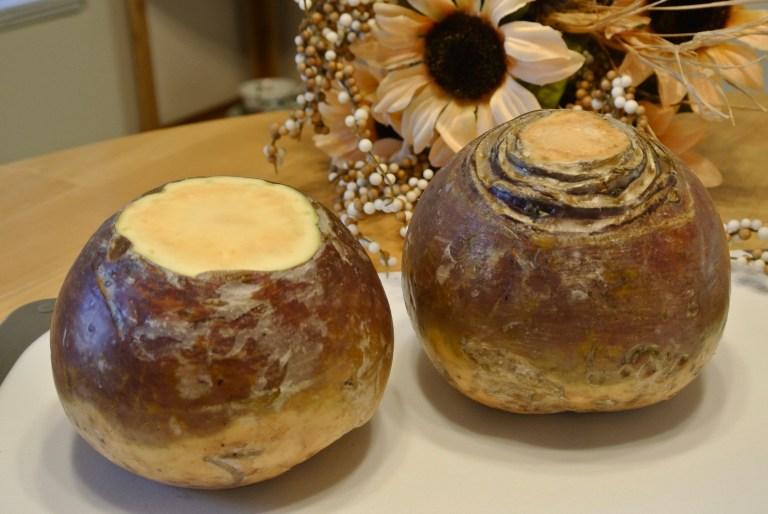 Turnip carving.