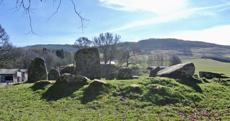 Croft Moraig Stone Circle.