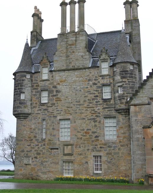 The original portion of Lauriston Castle.