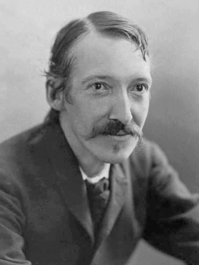 Photo of Robert Louis Stevenson.