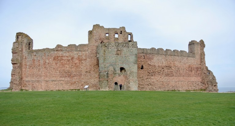 Tantallon Castle in Scotland.