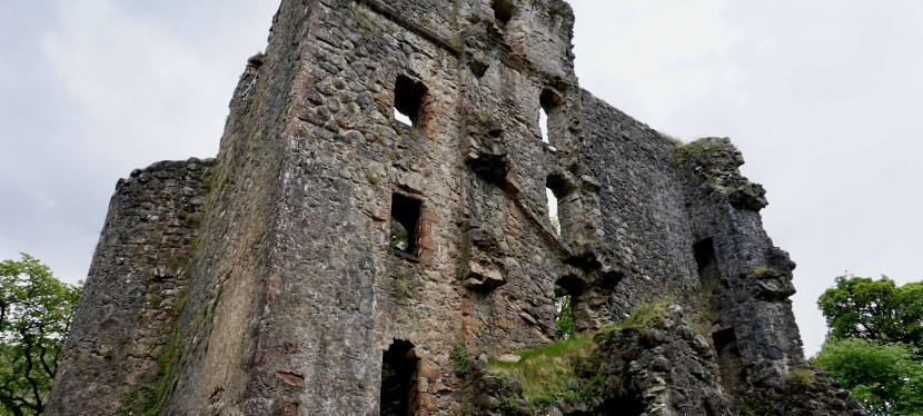 Invergarry Castle-An Atmospheric Ruin