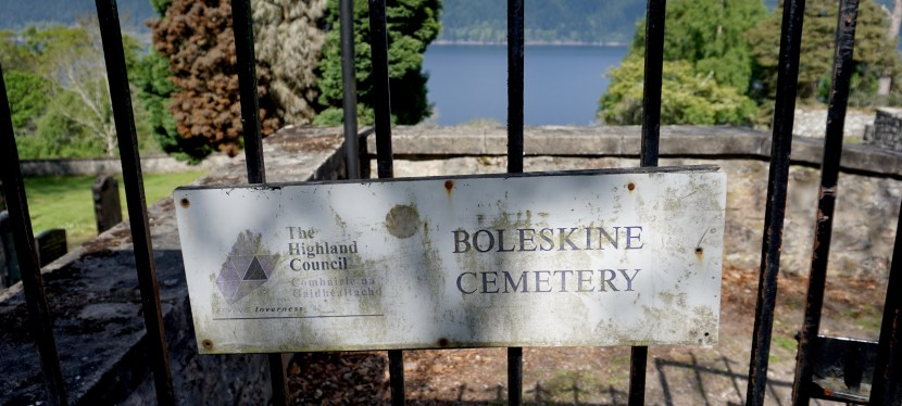 Boleskine Cemetery and a Side of Witchcraft