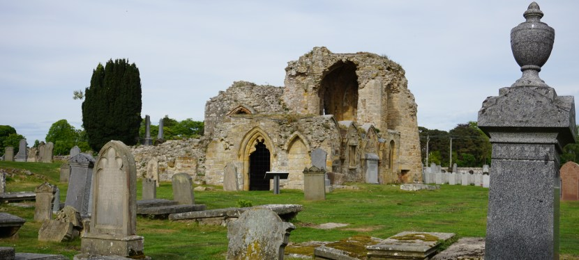 Kinloss Abbey-The Ruins of an Old Cistercian Monastery