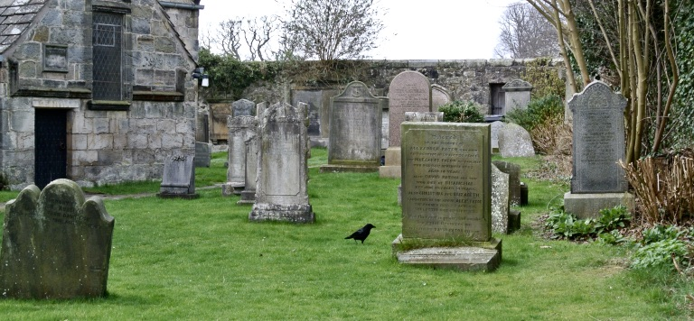 Cemetery at St. Fillans Church.