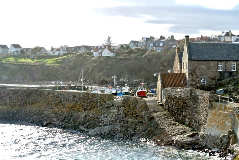 Crail Harbor.
