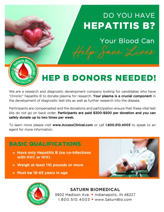 Saturn Bio_Hep B Flyer
