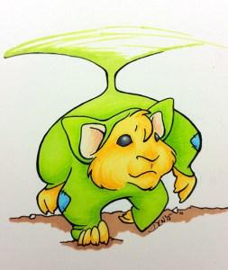 Hamster in a pigwiggle costume - 2015