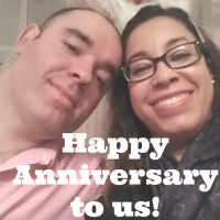 It's our anniversary!