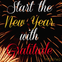 Start the New Year with Gratitude