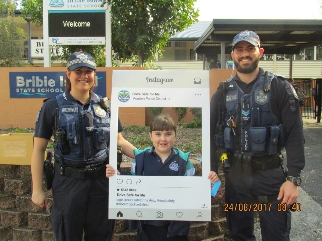Drive Safe For Me At Bribie Island State School