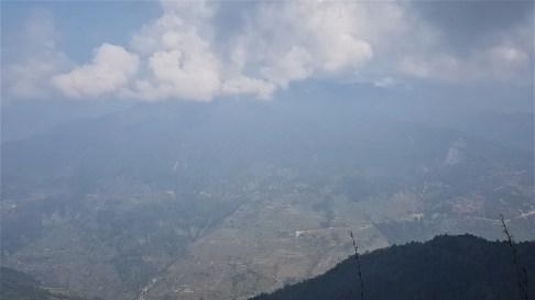 vallée dans les Anapurnas