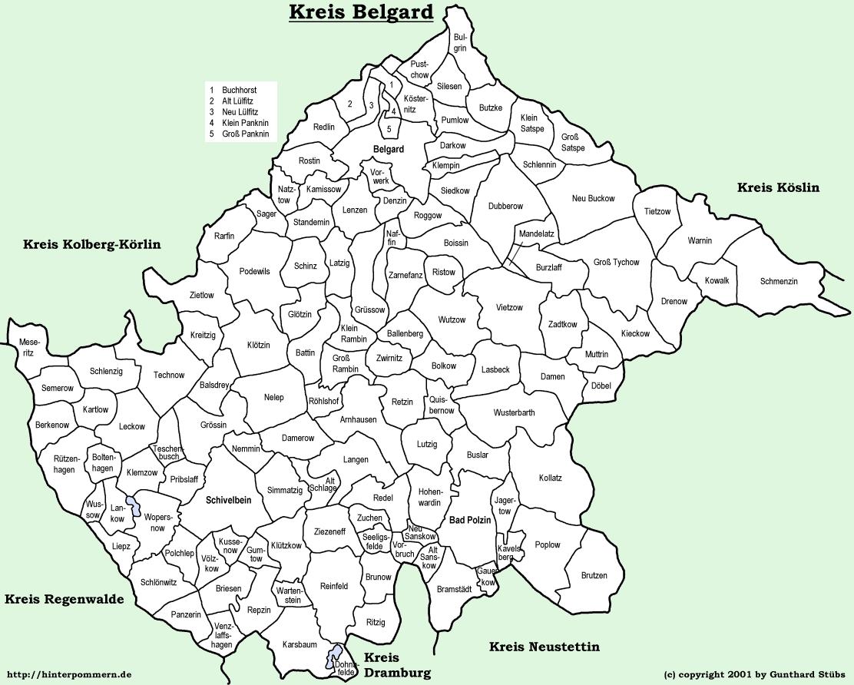Kreis Belgard, Pomerania