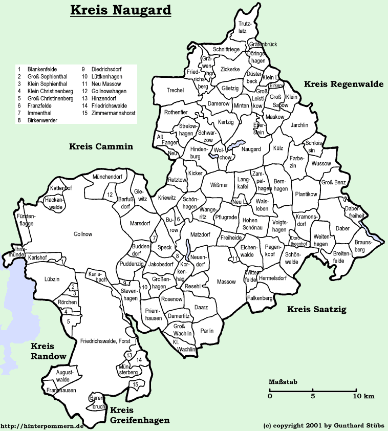 Pommern Germany Map.Kreis Naugard My Pomerania German And Polish Genealogy