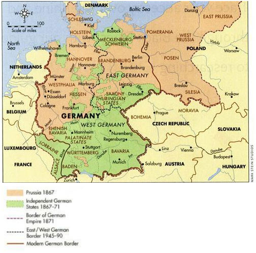 Map Of North West Germany.A Contextual Look At The Origins Of The Rohr And Rohl Family My