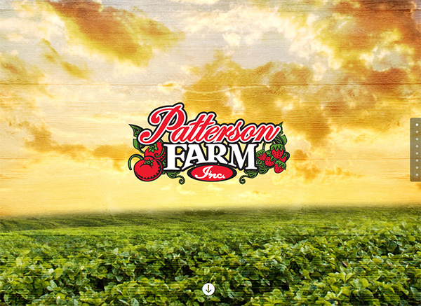 Patterson Farm Custom Website