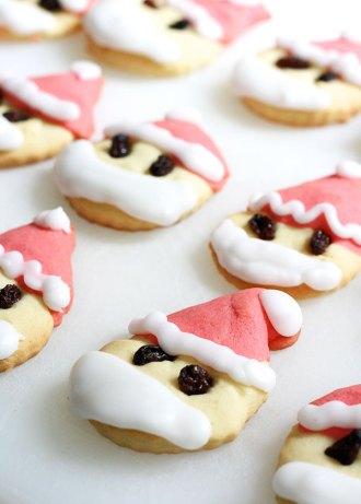 Bake some Santa shaped Christmas Cookies