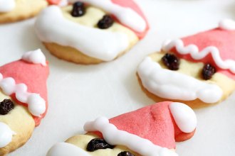 Bake some Santa shaped Christmas Cookies