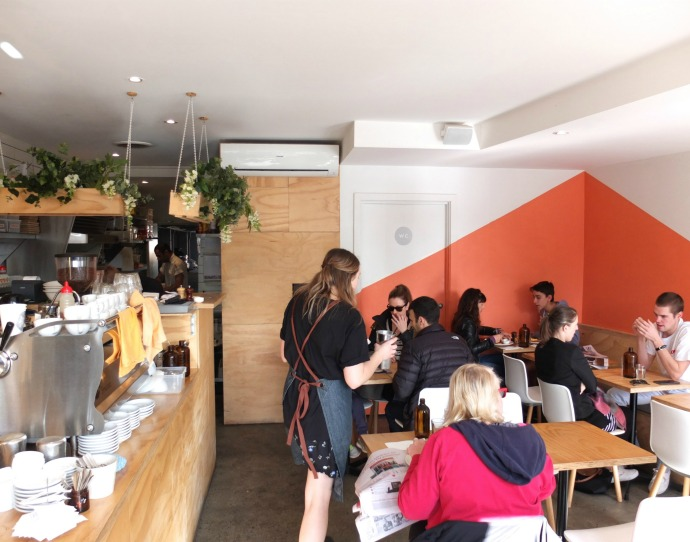 Cafe review Frank & Ginger Caulfield North