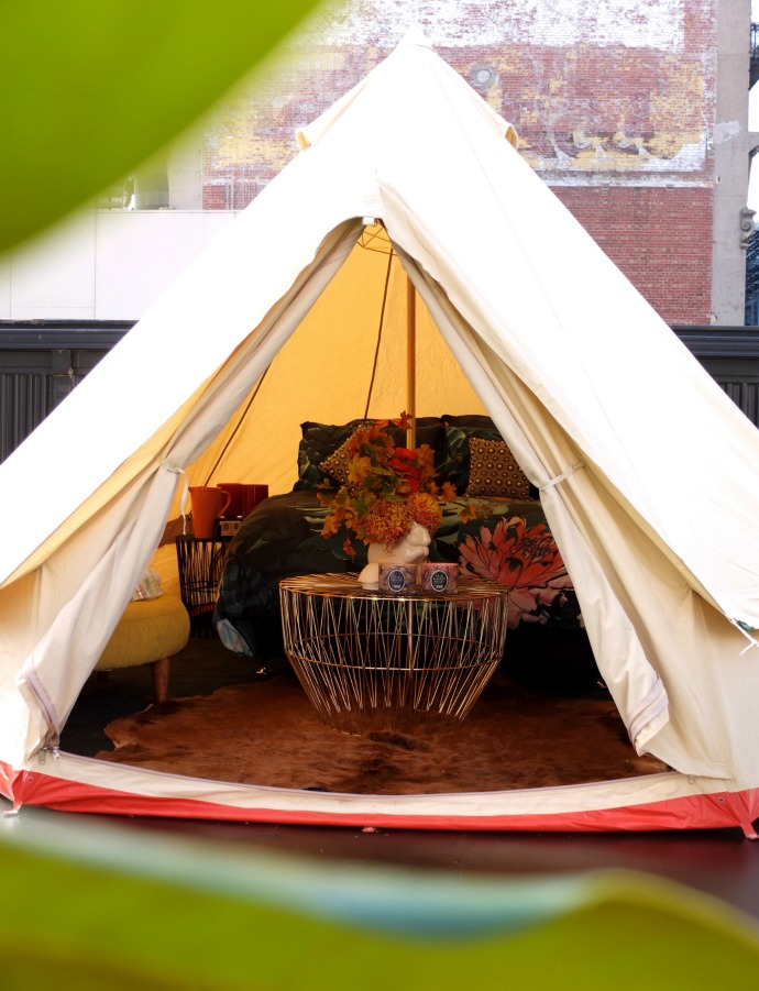 Glamping St Jerome's Hotel Melbourne Rooftop