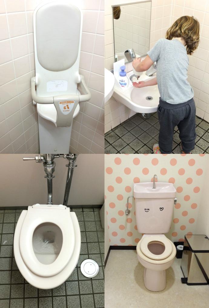 family friendly toilets in japan